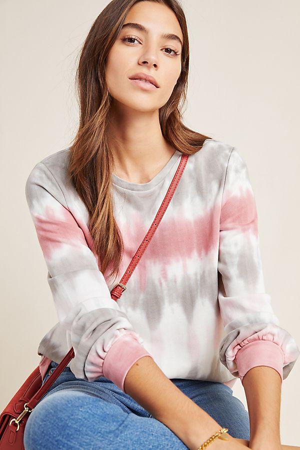 Slide View: 1: Kendall Tie-Dyed Sweatshirt