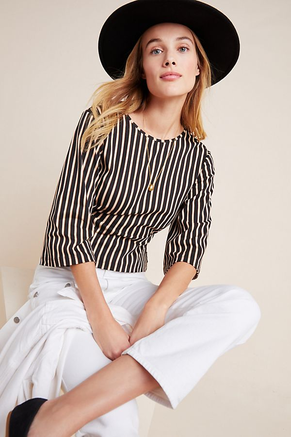 Slide View: 1: Scotch & Soda Bell-Sleeved Top