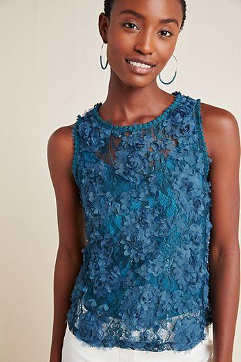 8cb1aeff63ea Blue Tassel - Blouses For Women | Anthropologie