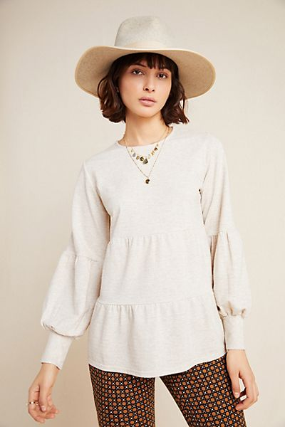 Norma Tiered Babydoll Top
