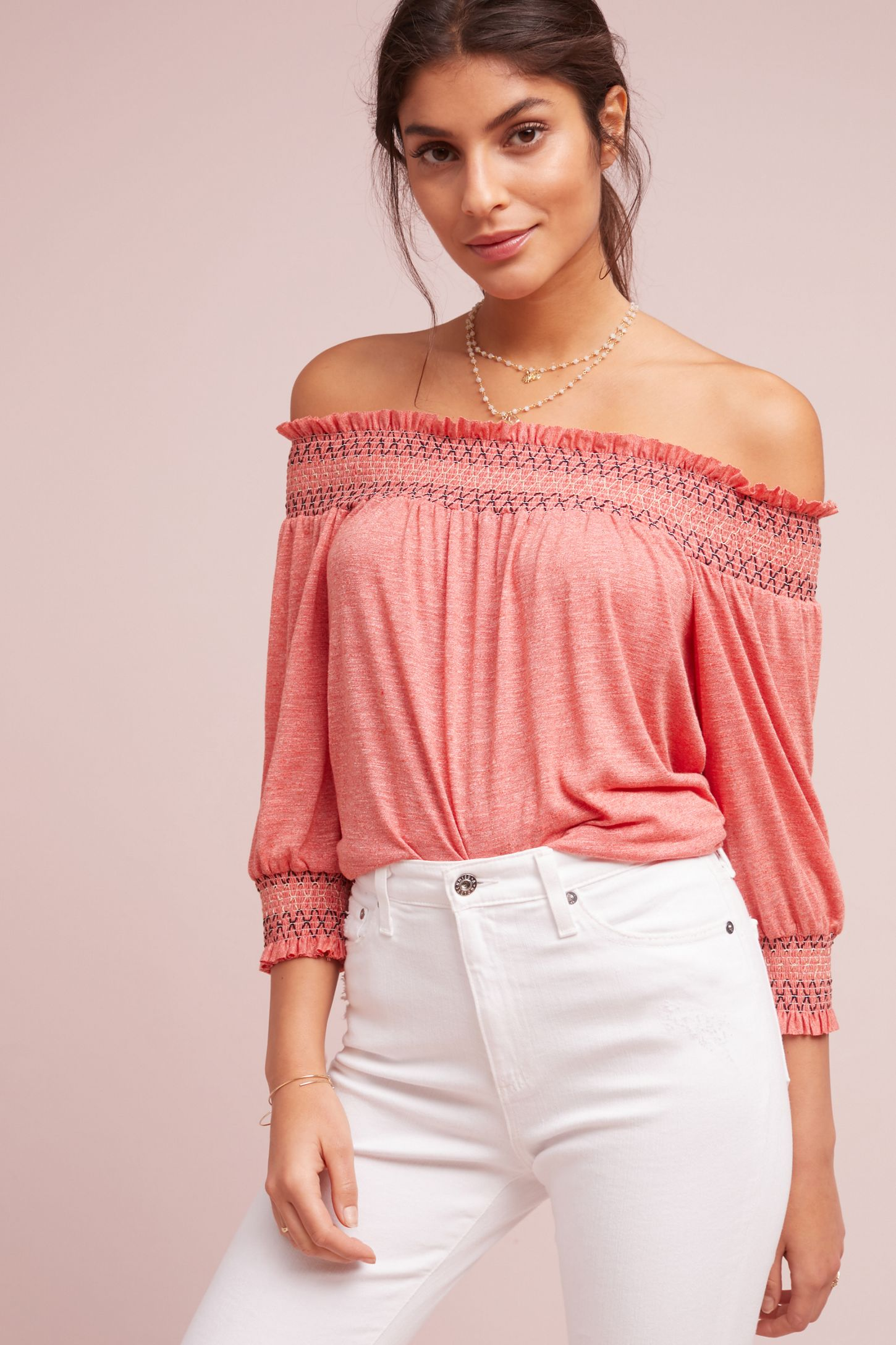 17a918d6a1f9c Riley Off-The-Shoulder Top