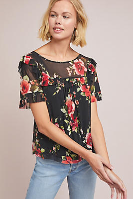 Slide View: 1: Fabiana Floral Top
