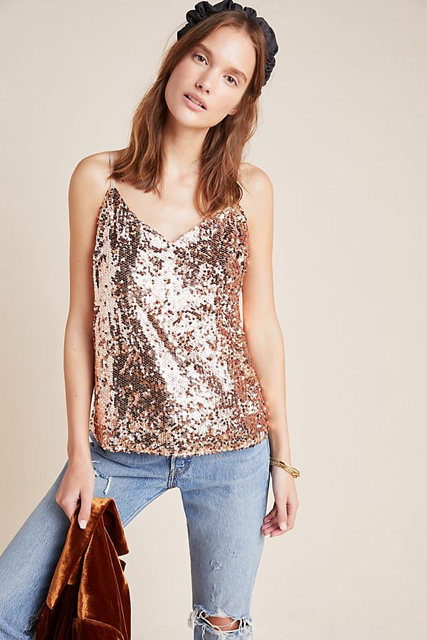 Slide View: 3: Bette Sequined Cami