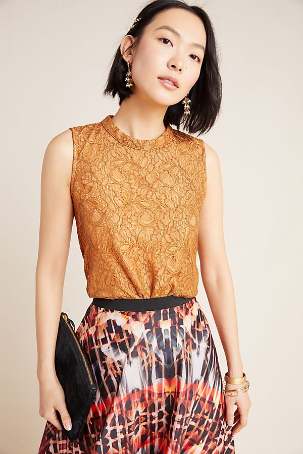 Slide View: 1: Wendy Lace Top