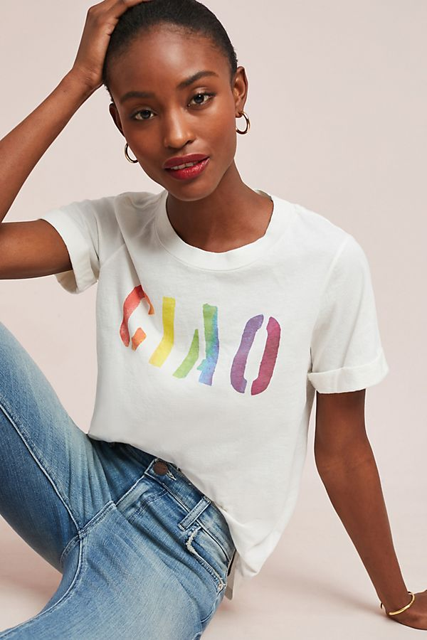 4ef1473fd Sol Angeles Rainbow Ciao Graphic Tee | Anthropologie