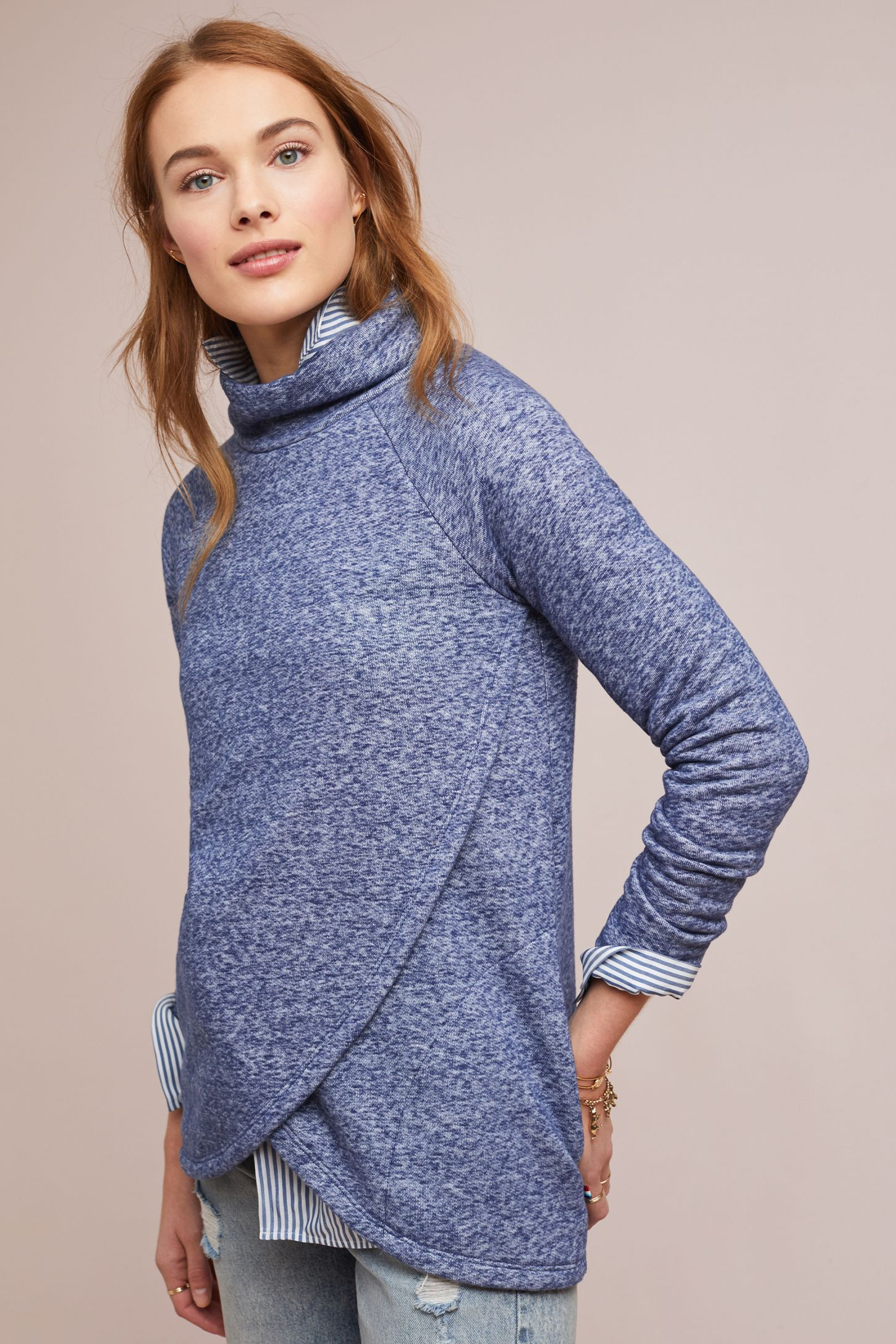 a7a7ecb8237 Sol Angeles Funnel-Neck Pullover