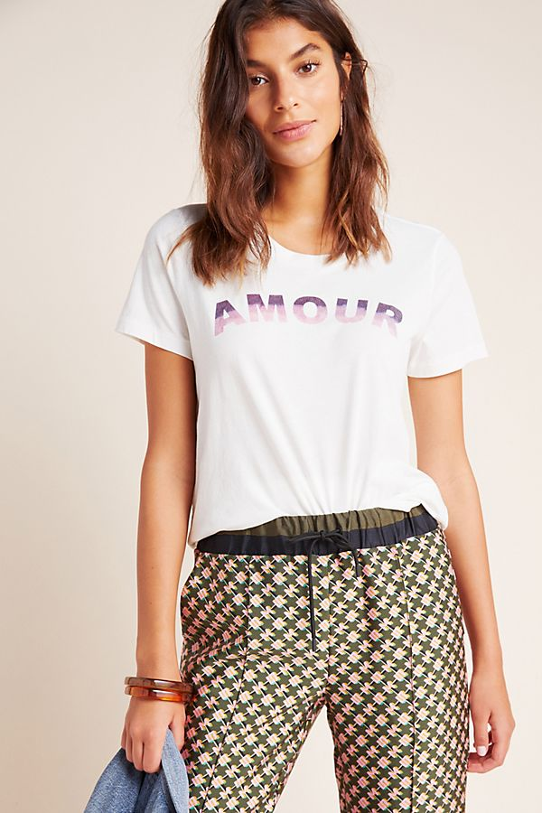 Slide View: 1: Sol Angeles Amour Graphic Tee