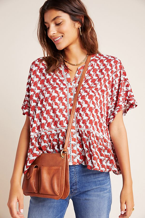 Josie Dolman Sleeved Top by Anthropologie