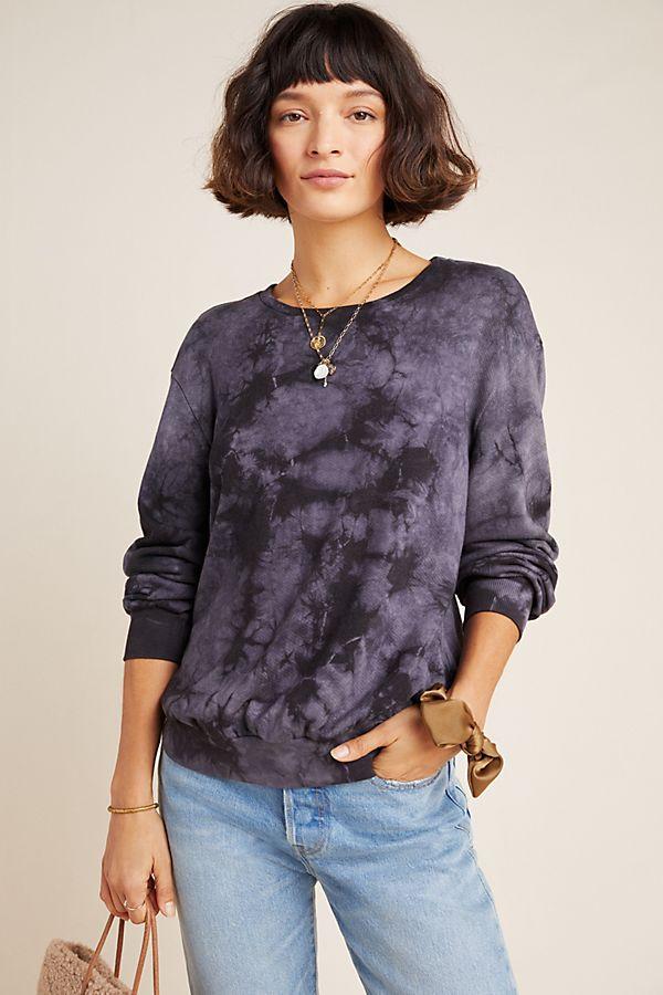 Slide View: 1: Vicky Tie-Dyed Sweatshirt