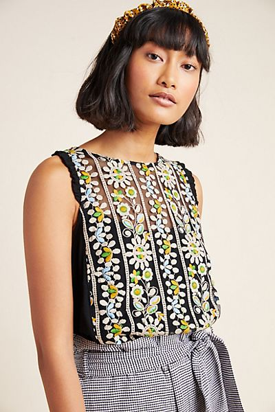 Haley Embroidered Top