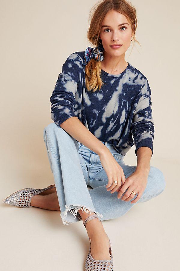Slide View: 1: Ilsa Tie-Dyed Sweatshirt