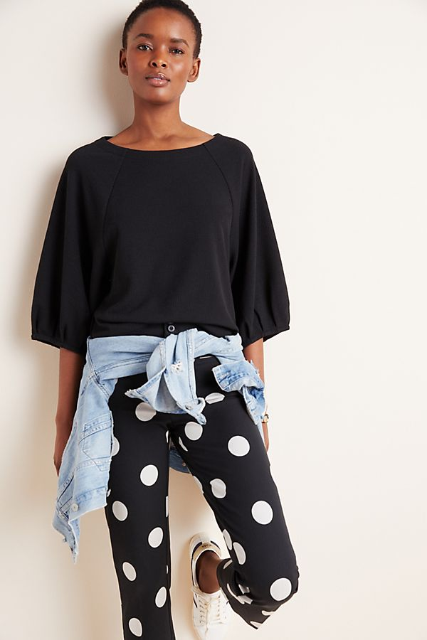 Slide View: 1: Macie Knit Dolman Top