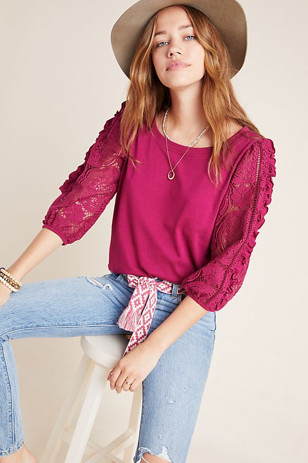 Slide View: 1: Nina Lace Top