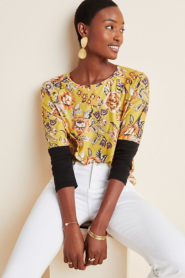Slide View: 1: Drusilla Floral Top