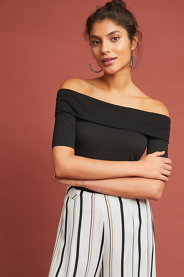 ad38332ec245c Patchett Off-The-Shoulder Top