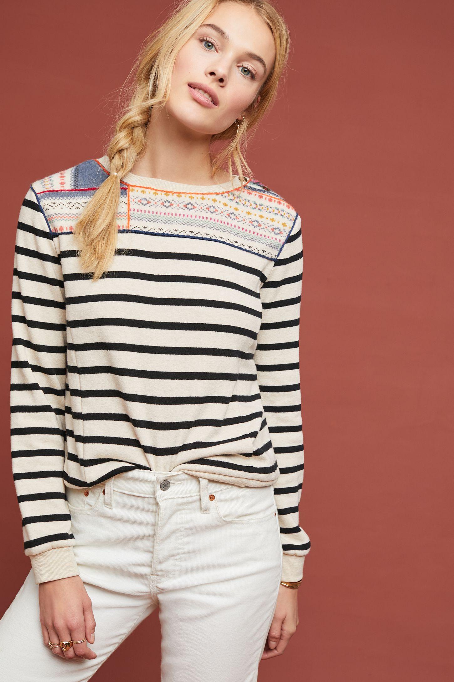 1fb0b58317227 Finn Striped Pullover