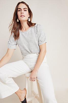 Slide View: 1: Naomi Puff-Sleeved Sweatshirt