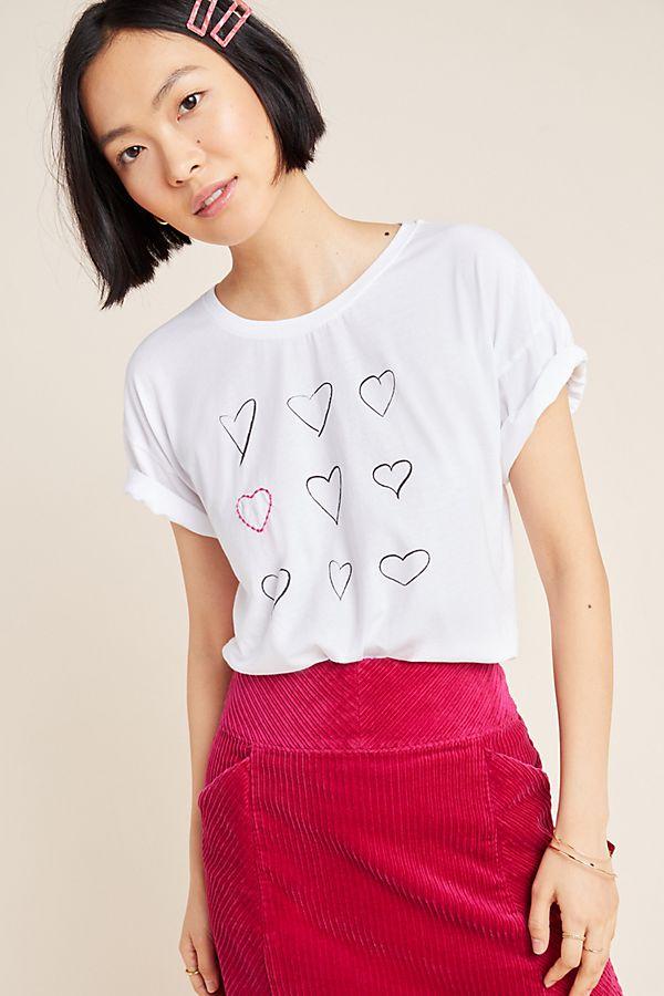 Hearts Graphic Tee by Kera Till