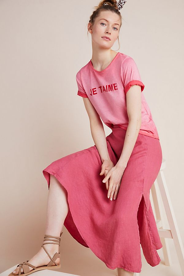 Slide View: 1: Je T'aime Graphic Tee