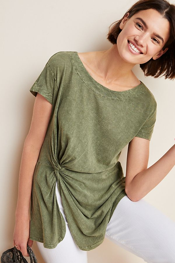 Slide View: 1: Jolie Knotted Tunic