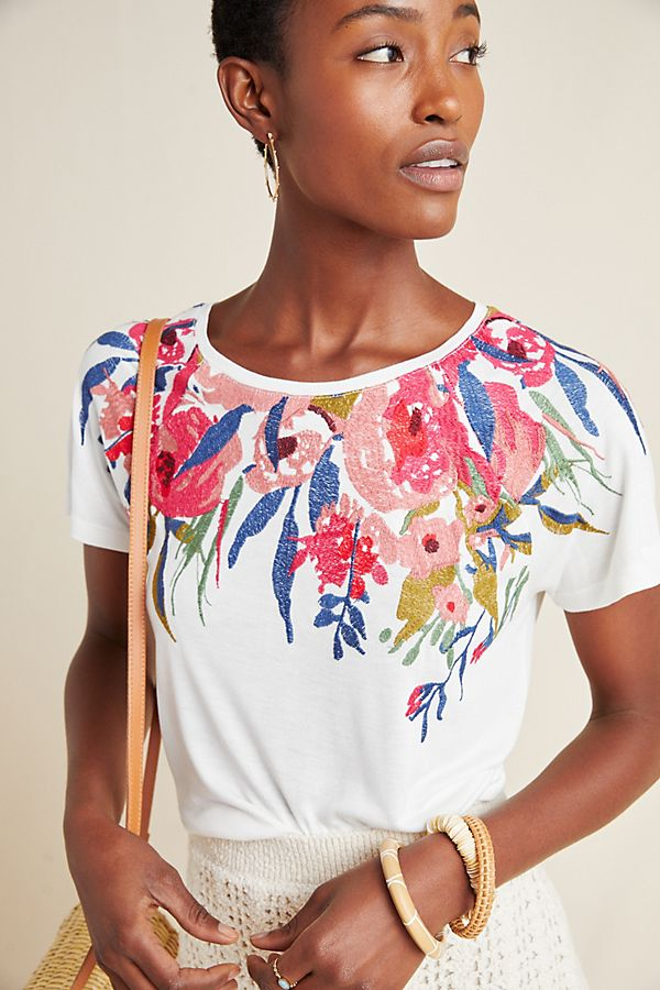 Slide View: 1: Rosamund Embroidered Top