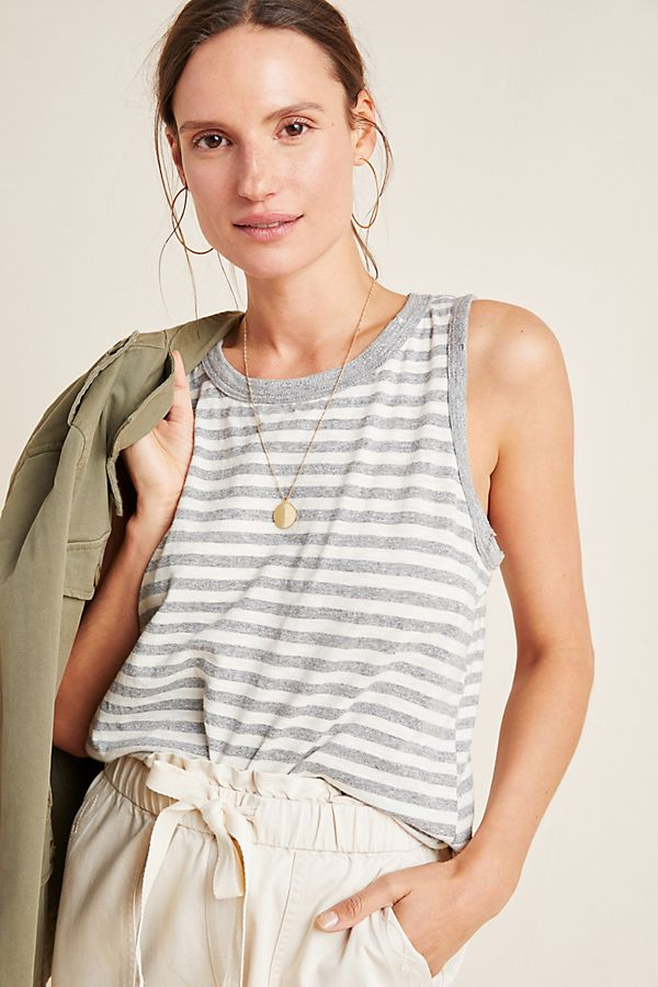 Slide View: 1: Mandy Striped Top