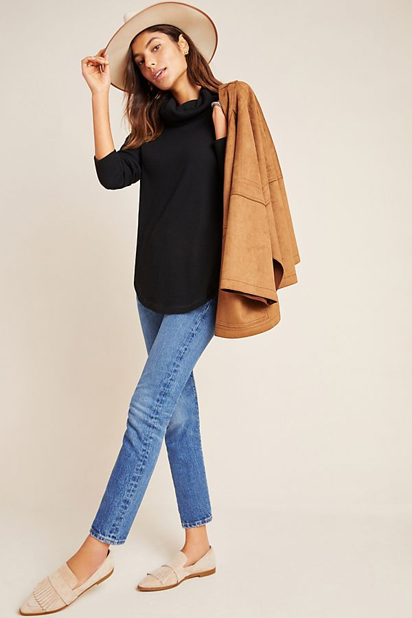 Slide View: 1: Ainsley Thermal Turtleneck