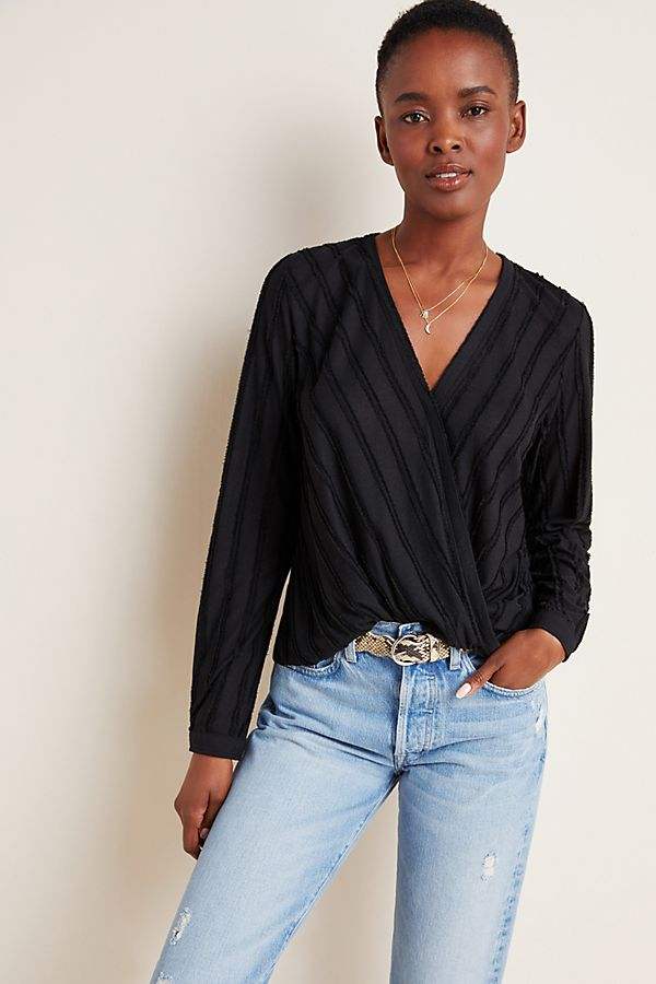 Slide View: 1: Audre Textured Top