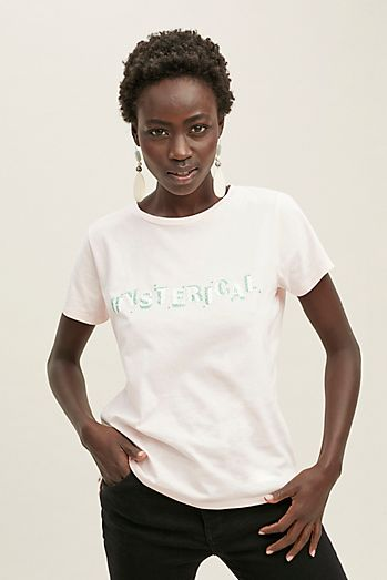 830c532783af Future Female Hysterical-Print Organic-Cotton Tee