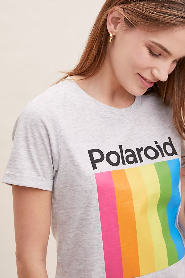 Slide View: 4: Polaroid-Logo Tee
