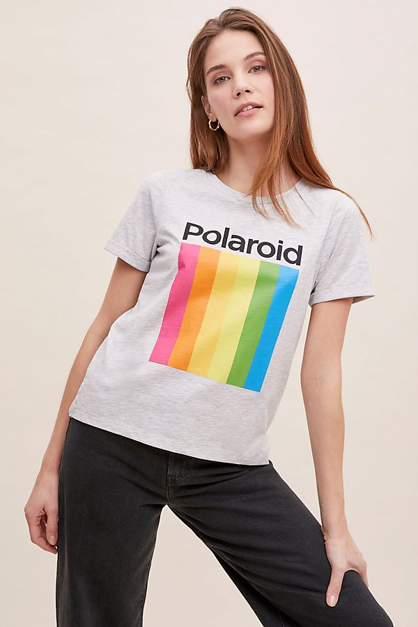 Slide View: 1: Polaroid-Logo Tee