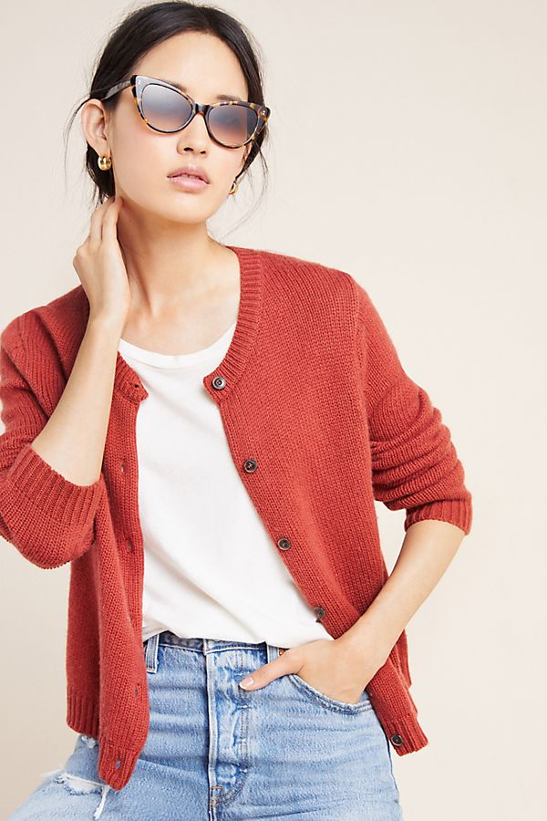Kathy Cropped Cardigan by Velvet By Graham & Spencer