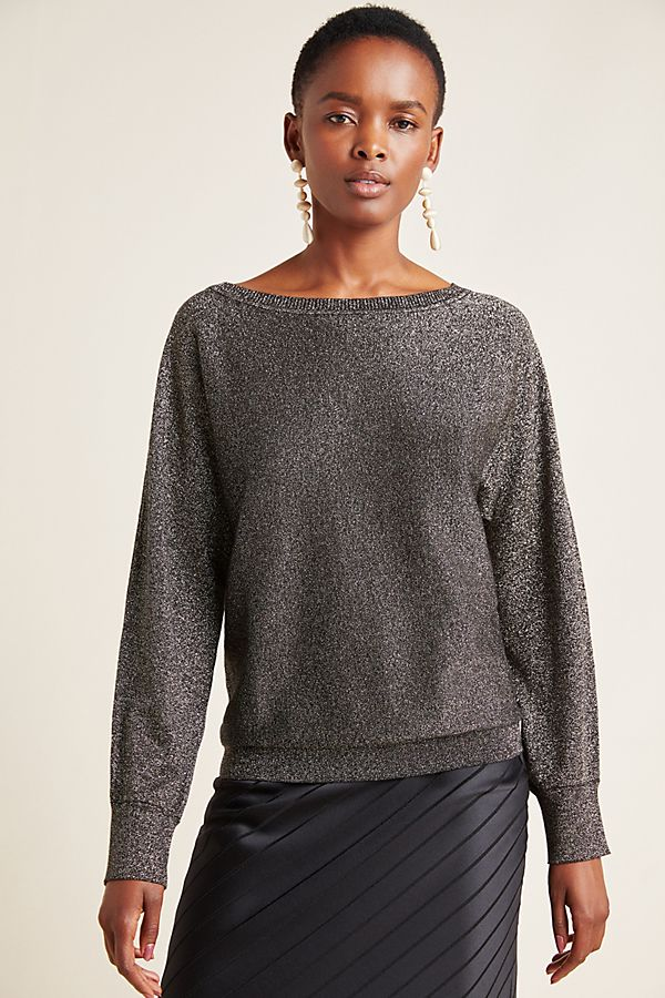 Slide View: 4: Abril Shimmer Pullover
