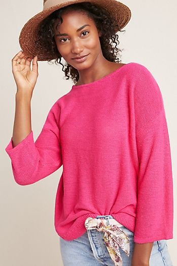 7c7df045779 Sunrise Embroidered Sweater Tank.  98.00. Mayfield Knit Pullover