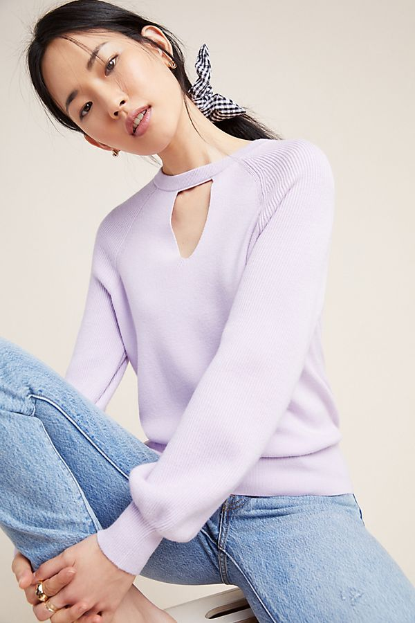 Slide View: 1: Mary Knit Pullover