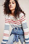Melinda Striped Pullover