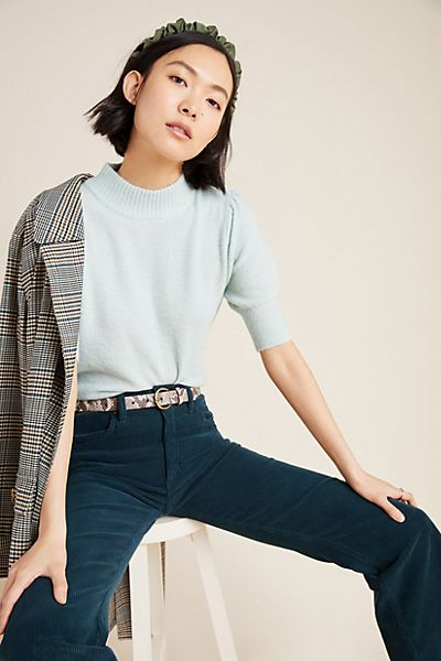 Ren Puff-Sleeved Sweater Tee