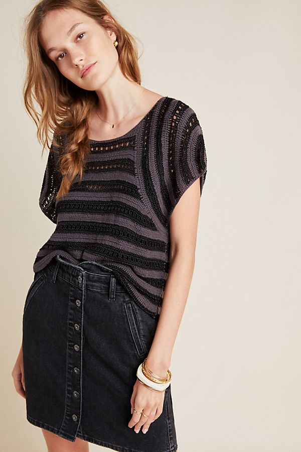 Slide View: 1: Audra Knit Layering Top