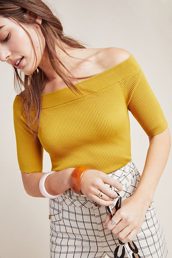 Slide View: 1: Minuet Off-the-Shoulder Top