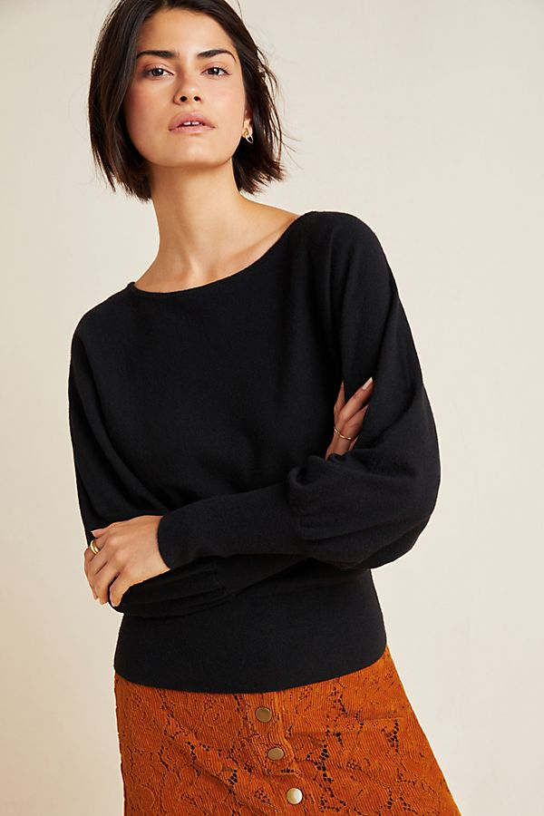 Slide View: 1: Denise Dolman-Sleeved Sweater