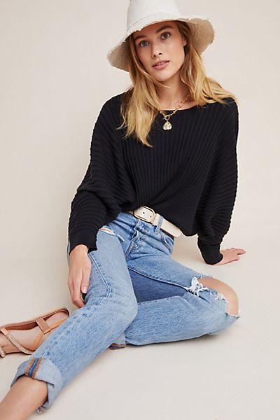 Karla Dolman-Sleeved Sweater
