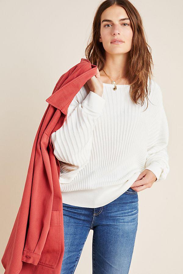 Slide View: 1: Karla Boat Neck Sweater