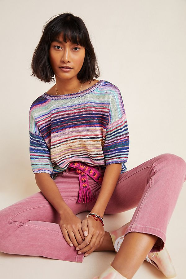Slide View: 1: Bianca Sweater Tee
