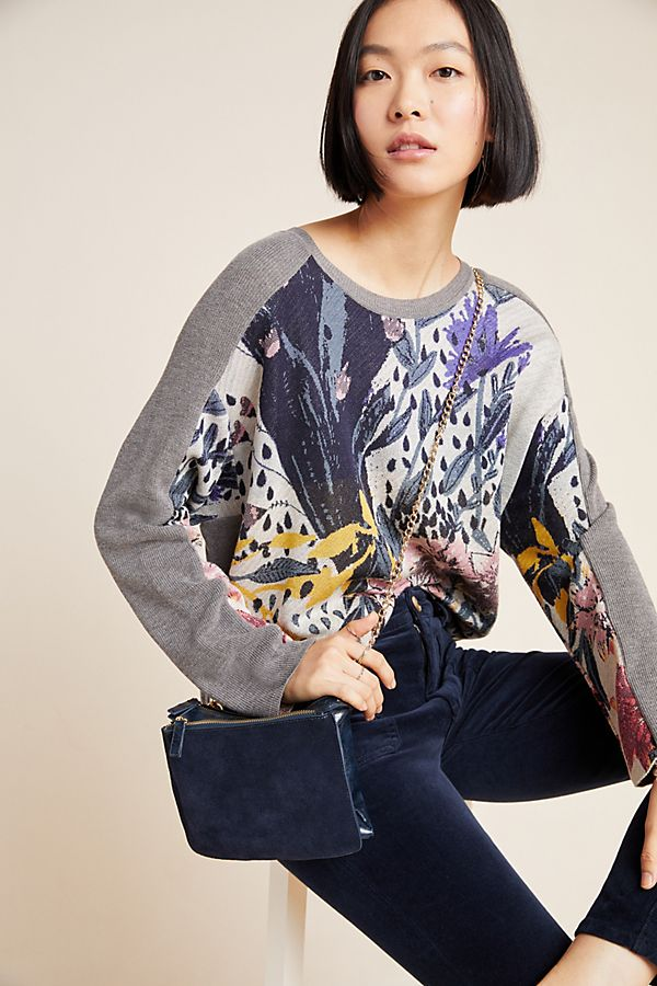 Slide View: 1: Florita Knit Pullover
