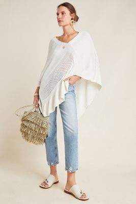 Padma Poncho by Anthropologie