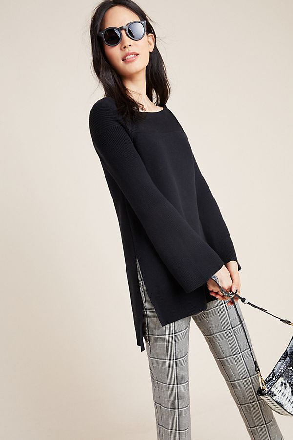 Slide View: 1: Elise Ribbed Tunic