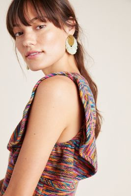 Ruby Flutter Sleeved Top by Anthropologie
