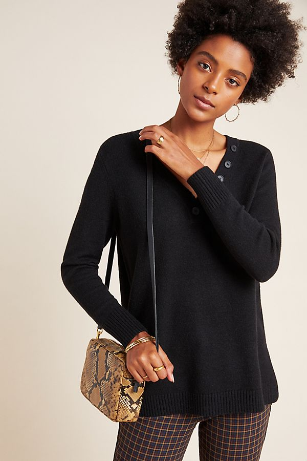 Slide View: 1: Serena V-Neck Sweater