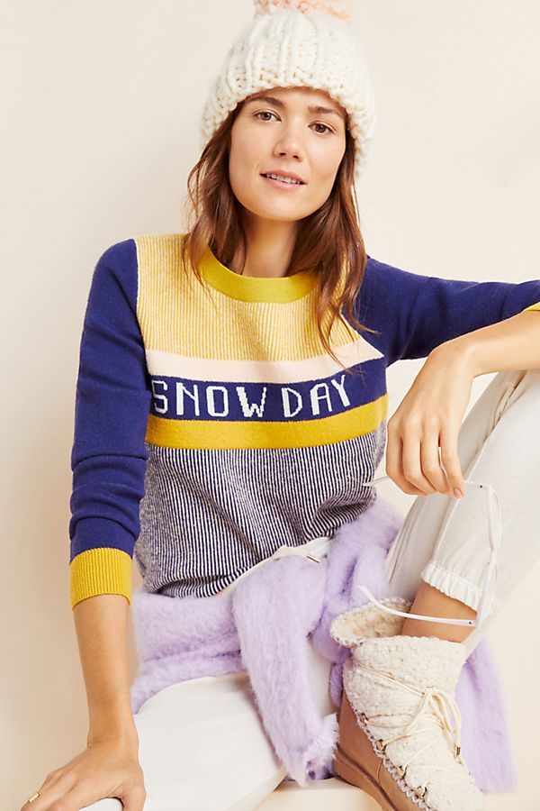 Slide View: 1: Snow Day Sweater