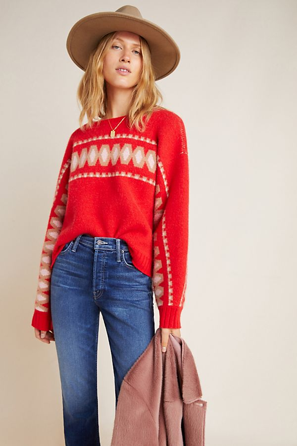Slide View: 1: Tinsley Cashmere Sweater